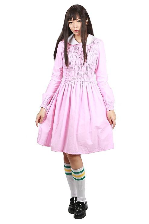 Amazon.com: xcostume las niñas Eleven Vestido chamarra Traje ...