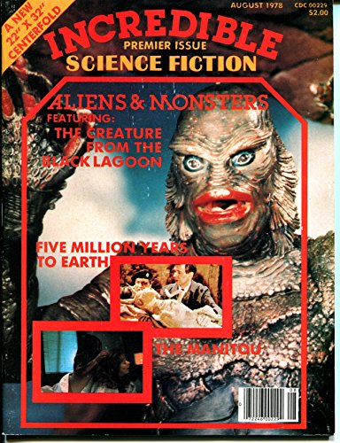 Incredible Science Fiction #1 8/1978-1st issue-Creature From Black Lagoon-VF
