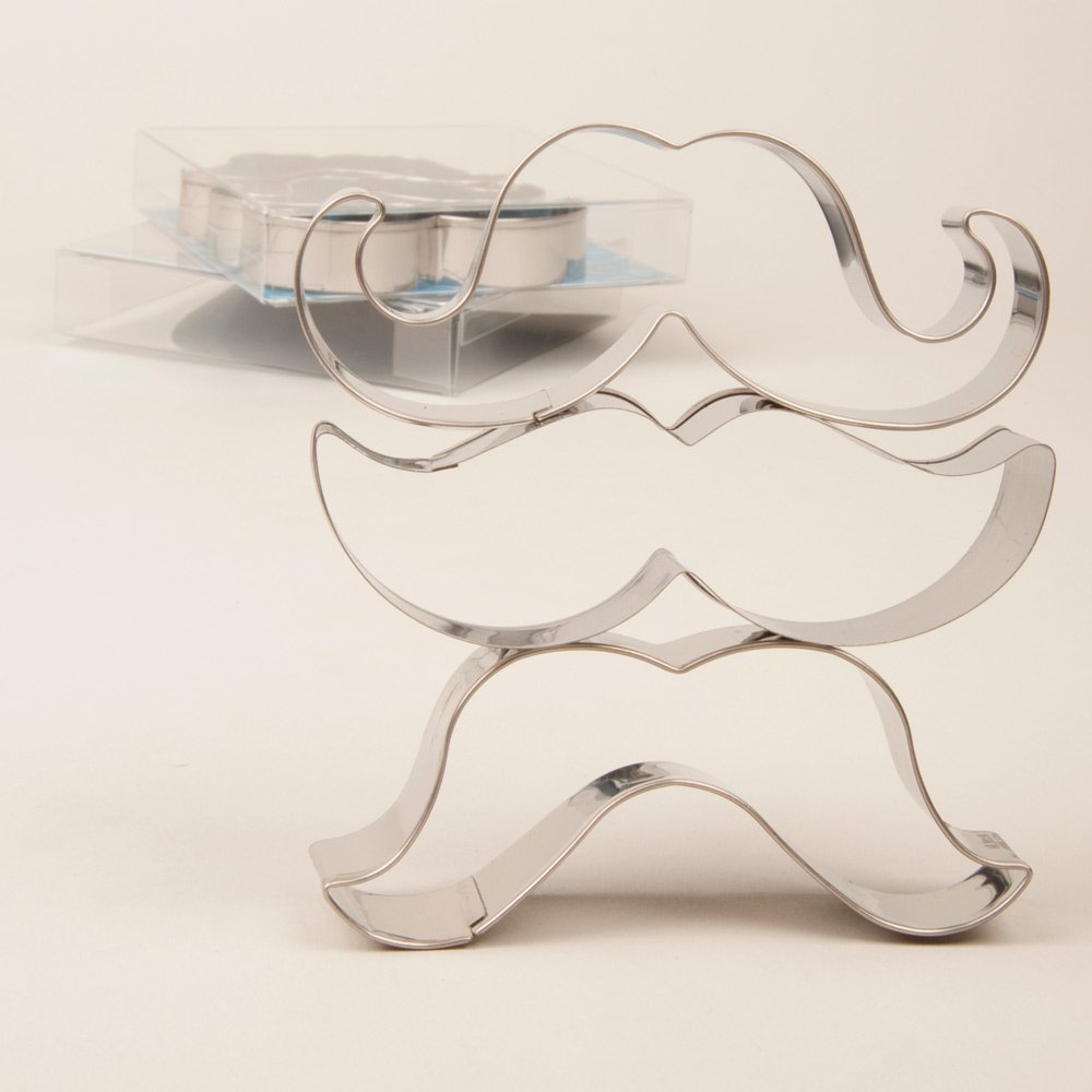 Mustache Cookie Cutter Set by Fuzzy Ink (Image #3)