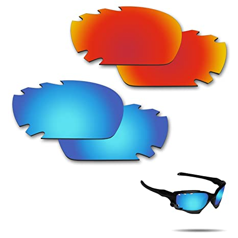 37c4002799 Image Unavailable. Image not available for. Color  Fiskr Anti-Saltwater  Polarized Replacement Lenses for Oakley Jawbone Vented Racing Jacket  Sunglasses ...