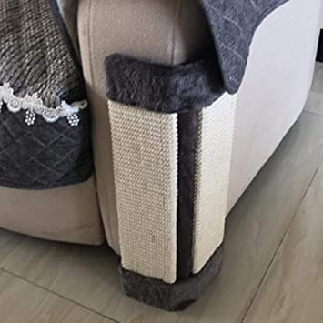 SONYY Gato arañazos Placa sisal sisal Resistente al Desgaste sofá ...