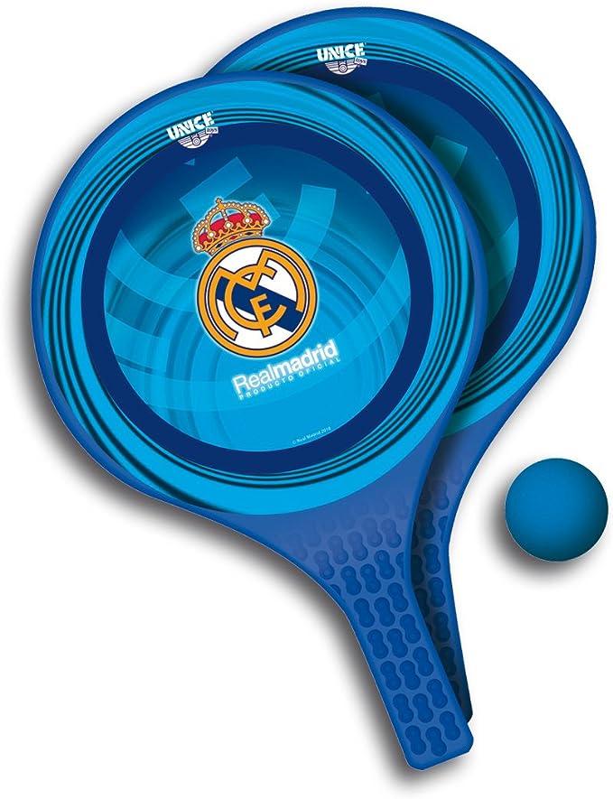 Real Madrid C.F. - Conjunto de Palas para Playa con Pelota (Unice ...