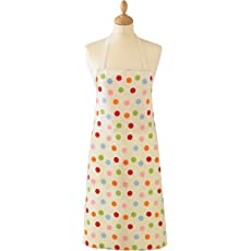Spotty Ladies PVC Apron