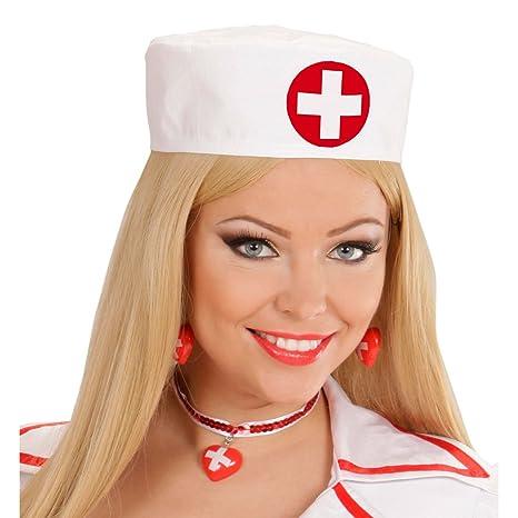 NET TOYS Cuffia da infermiera infermiera infermiera cappello da infermiere  medico 373a6362931a