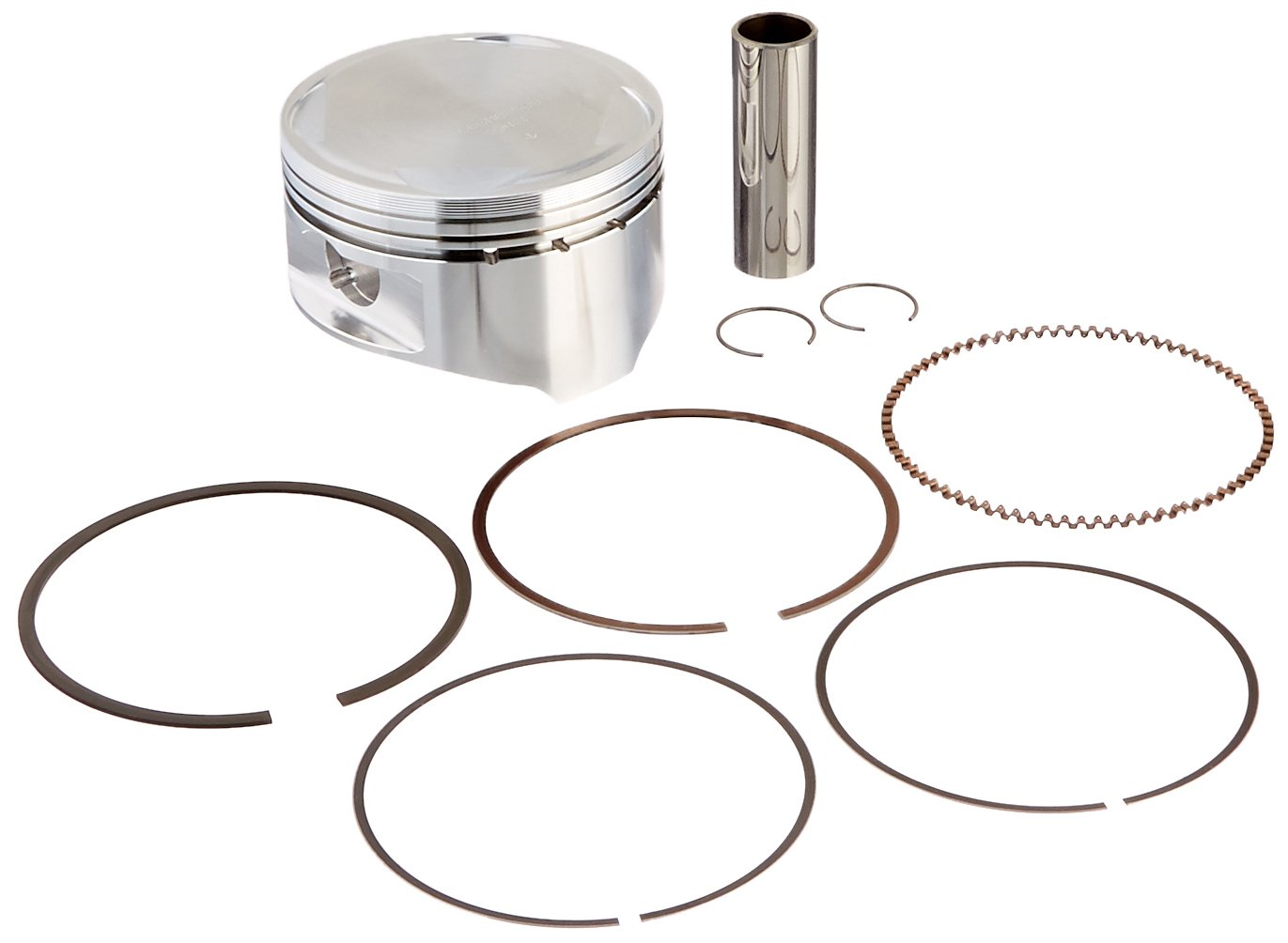 Wiseco 4606M08500 85.00mm 10:1 Compression Motorcycle Piston Kit