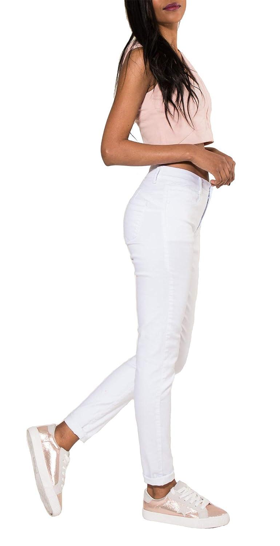 Vaqueros Nina Carter Mujer Vaqueros Slim Skinny Pantalones Jeans Stretch De Color Talla 34 A 42 Ropa Centrocen Cl