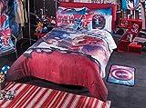 Captian America Civic War Comforter Set 9 Pcs Queen