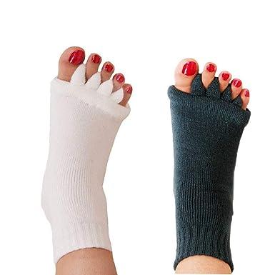 Amazon.com: Calcetines separadores de 5 dedos para yoga ...