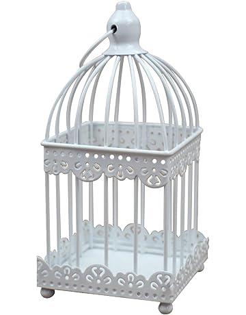 Emorias 1 Pcs Candelabro Forma de Jaula de Pájaros Literario Lamparas Elegante Escritorio Decoracion Creativo Portavelas