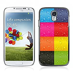 Super Stellar Slim PC Hard Case Cover Skin Armor Shell Portection // V0000416 Abstract Rainbow Colour Pattern // Samsung Galaxy S4 i9500