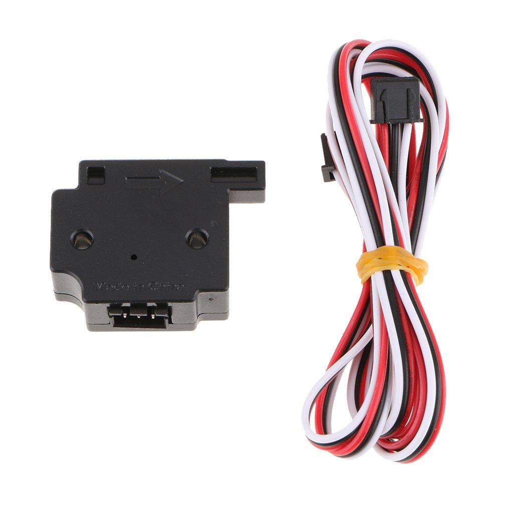 Baosity 3D Printer 1.75mm Filament Detection Sensor Module/&Cable Run Out Monitor