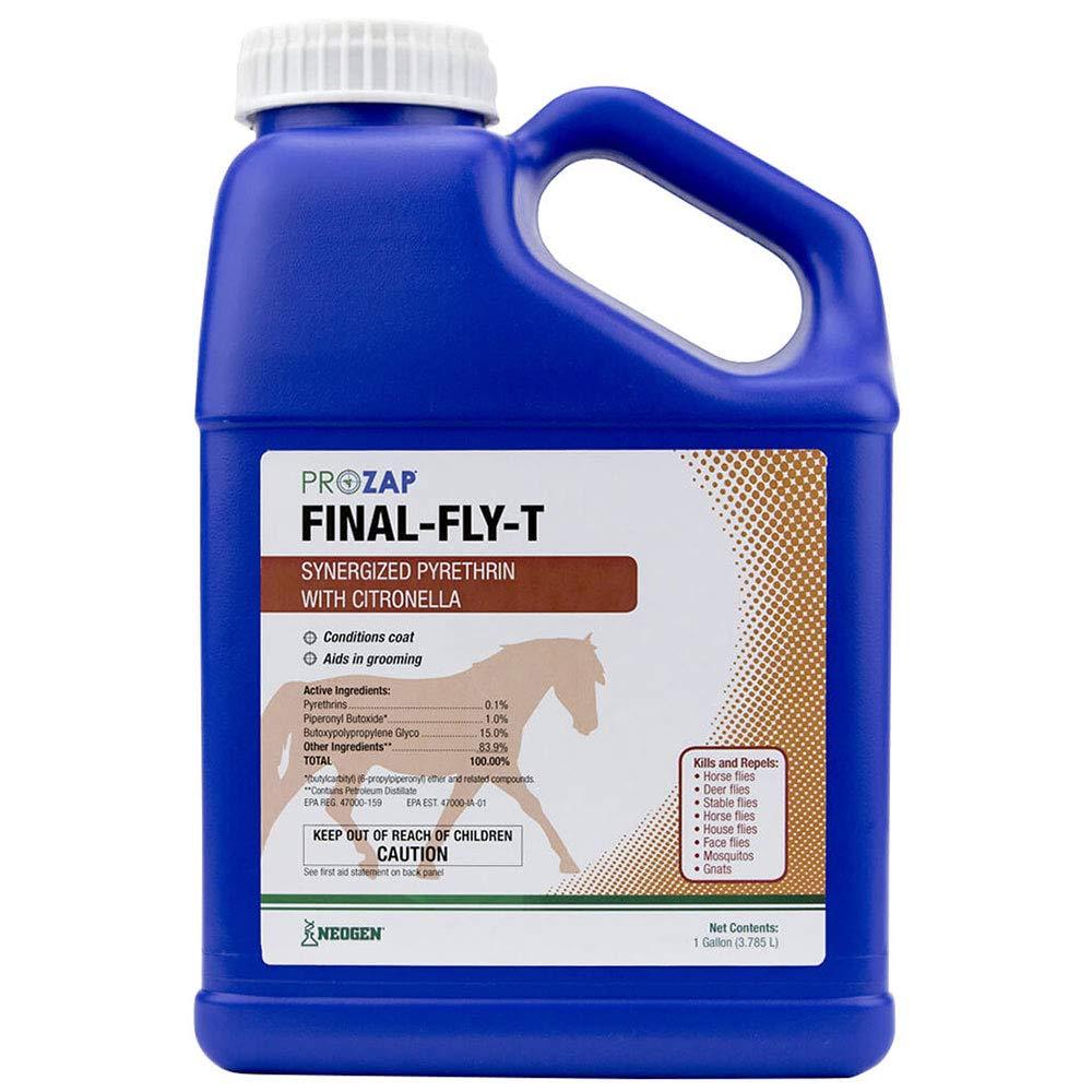 Prozap Final Fly-T Horse Fly Spray Gallon