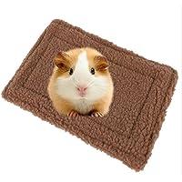 Danzh Schlafmatte Blanket Carpet Cage Für Hamster Kaninchen Hause Doppelseitige Fleece Nest Warme Bettwäsche Hamster Schlafmatte