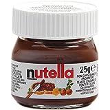 Nutella Mini Glas Set 1-32 Ferrero Brotaufstrich Minigläser-Set klein Schokolade 25 g kleine Packung, Variante wählen:1x Mini Nutella 25g