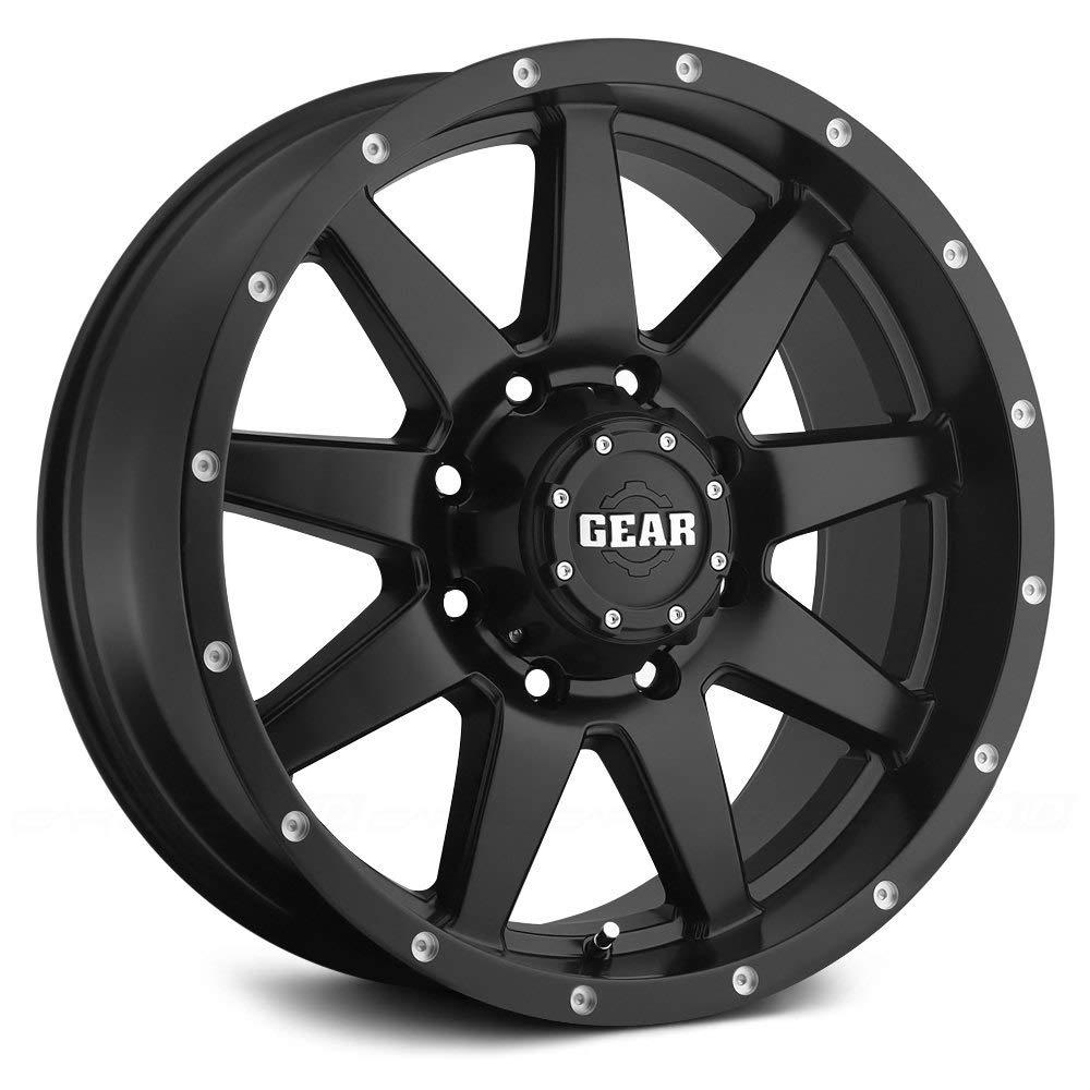 Gear Alloy 728B OVERDRIVE Black Wheel 17x9//5x5, +10mm Offset