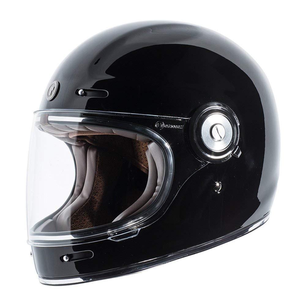 ISO Bars Graphic Large TORC T102ISO24 T-1 Retro Full Face Helmet