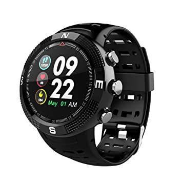 DBBKO Montre connectée GPS Modes Sportifs Multiples Rappel du Message Montre Intelligente étanche