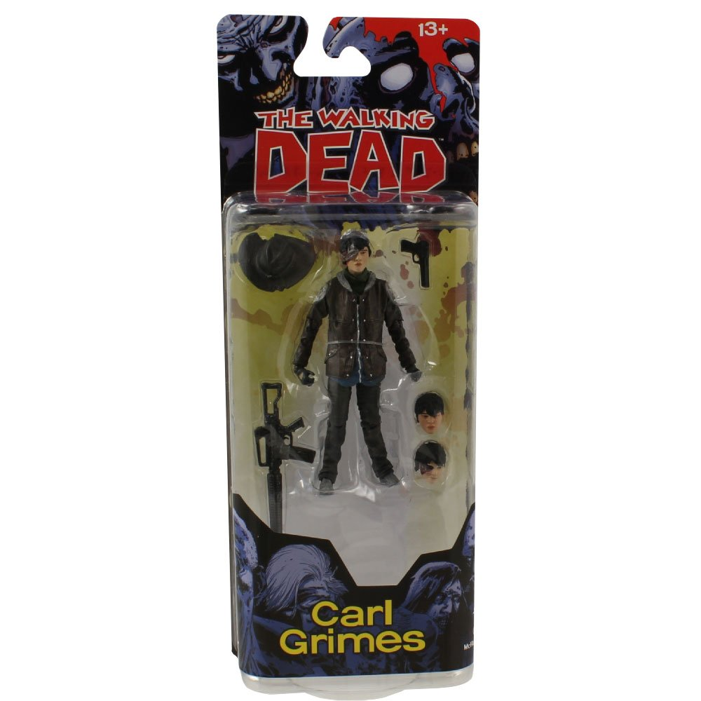 Carl Walking Dead Comic Eye