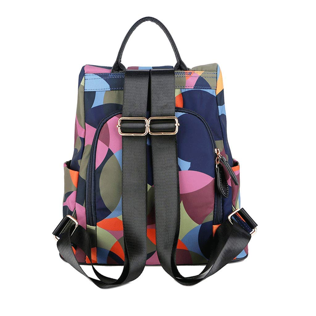 SLH Travel Backpack Wild Large Capacity Ladies Lightweight Anti-Theft Backpack