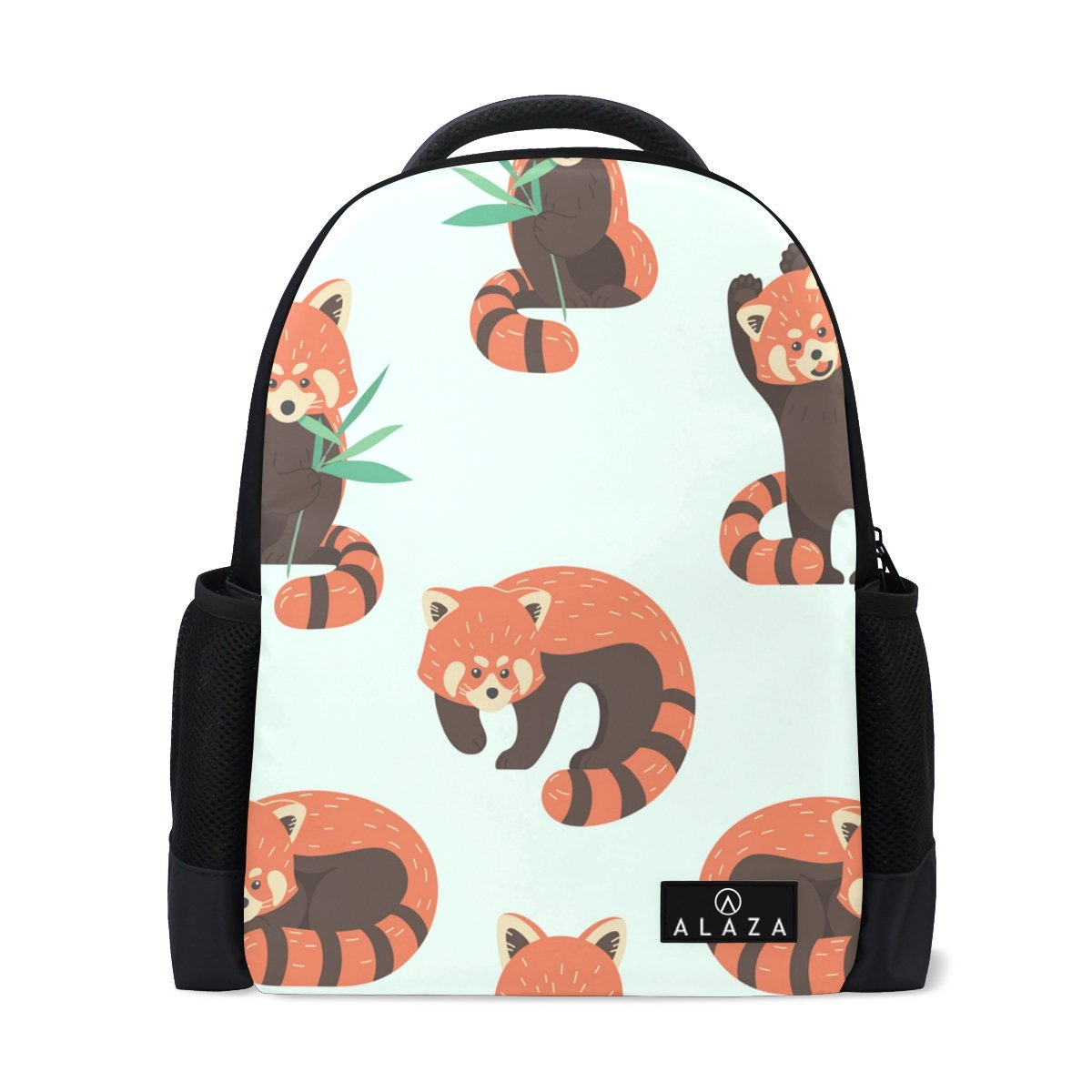 My Daily Cute Red Panda Backpack 14 Inch Laptop Daypack Bookbag for Travel College School