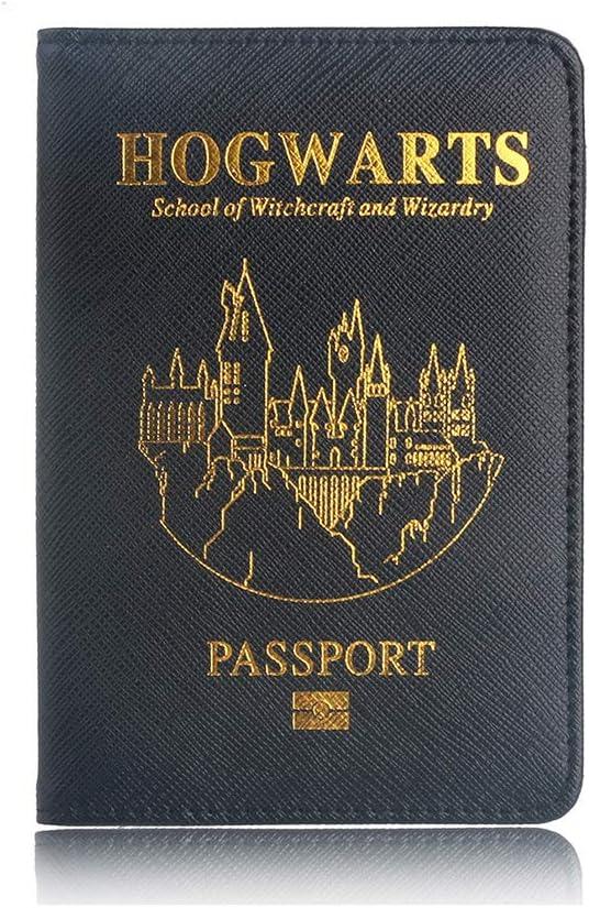 Reisepass Schutzh/ülle Harry Reisepass H/ülle Ausweis und Reisedokumente Premium Kunstleder Reisepassh/ülle Halter Blockier f/ür Kreditkarten
