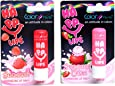 Color Fever Nourishing Lip Balm Combo - Stawberry + Stawberry cream