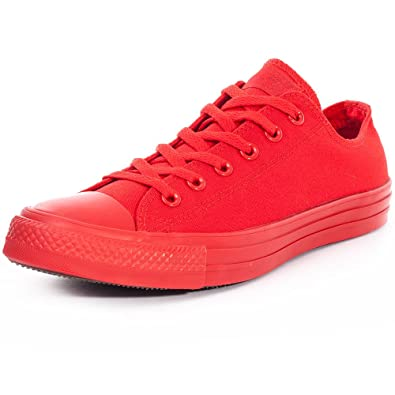 7c4c1af5aed06 Converse Chuck Taylor All Star Mono Ox Rouge Rouge 36