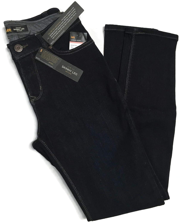 ac58d7c0 LEE Women's Dream Soft Slim Fit Skinny Leg Jean at Amazon Women's Jeans  store