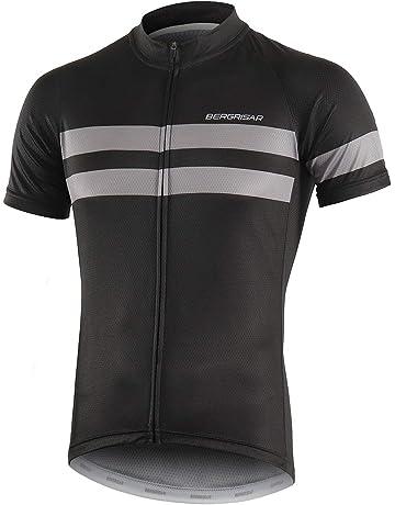 c5fe945c6cc BERGRISAR Men's Cycling Jerseys Short Sleeves Bike Shirt