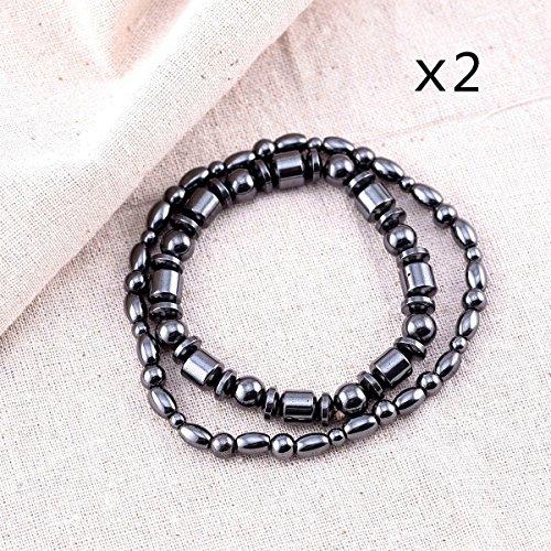 VIKI LYNN Magnetic Hematite Bracelet Anklet product image