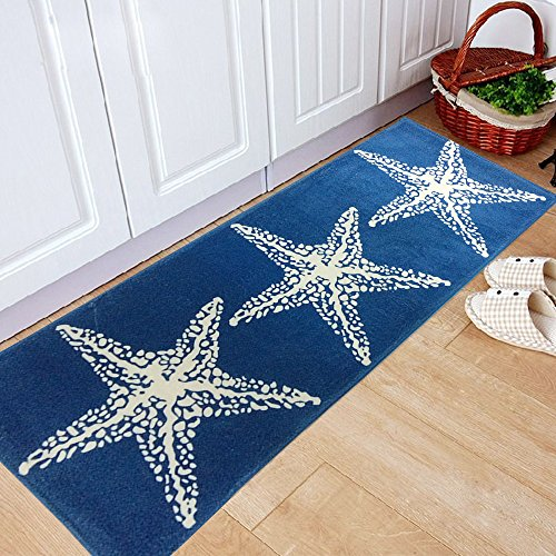 yazi Non Slip Mediterranean Starfish 17 7x45 3inch