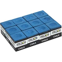Felson Billiard Supplies Box of 12 Blue Cubes of Pool Cue Chalk