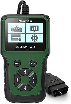 Nexpow V311 Automotive Engine Fault Code Reader Car OBD2 Scanner