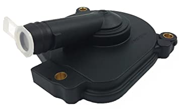 Bapmic 2720100631 PCV Crankcase Breather Vent Valve Oil Separator Cover for  Mercedes M272 M273