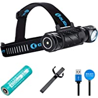 OLIGHT Perun 2 2500 Lumens Ultra-compact Cool White Rechargeable LED, Multi-functional Right Angle MCC Rechargeable…
