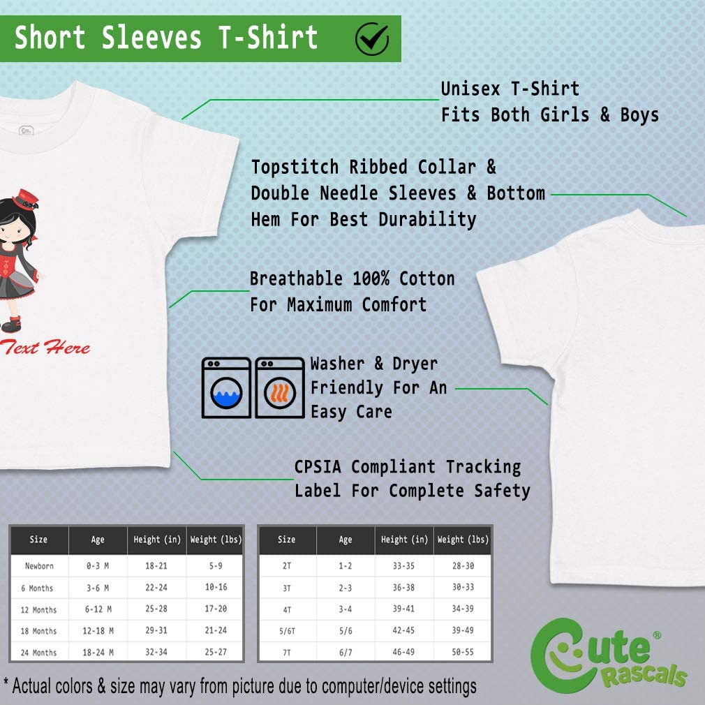 Custom Baby /& Toddler T-Shirt Vampire Girl Cotton Boy Girl Clothes