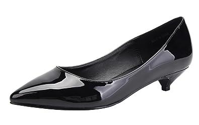Amazon.com | CAMSSOO Women\'s Comfor Classic Slip On Pointed Toe ...