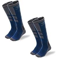 【TaoTech】 スポーツ アウトドア ソックス 登山 靴下 スキー スノーボード 厚手 段階着圧 防寒 通気 抗菌 防臭 吸汗 速乾