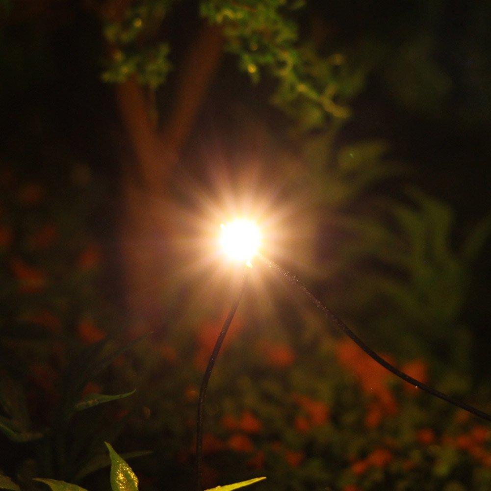 L0805GWDE NEU 20 Stk SMD LEDs goldenweiss Bauform 0805 mit Kabel 20cm 12-18 V
