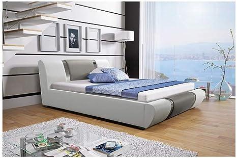 MG Home Atena - Somier de Cama Doble tapizado de Piel ...
