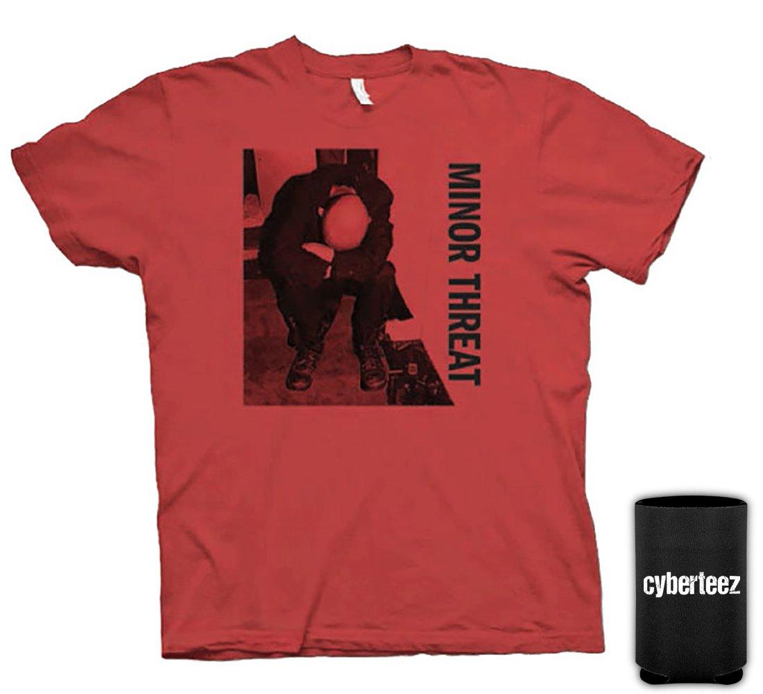 Minor Threat Ian MacKaye Red Album T-Shirt + Coolie (XL)