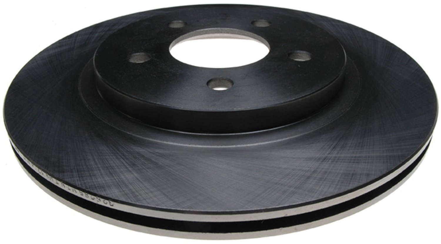 ACDelco 18A2326A Advantage Non-Coated Rear Disc Brake Rotor