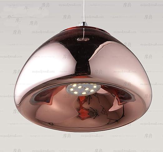 petrelking Tom Dixon lámpara de techo espejo Pea cristal ...