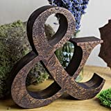 8″ Engraved wooden letters, wooden letters, Personalized wooden letters, free standing letters, Wedding letters, Letters for wall decor.