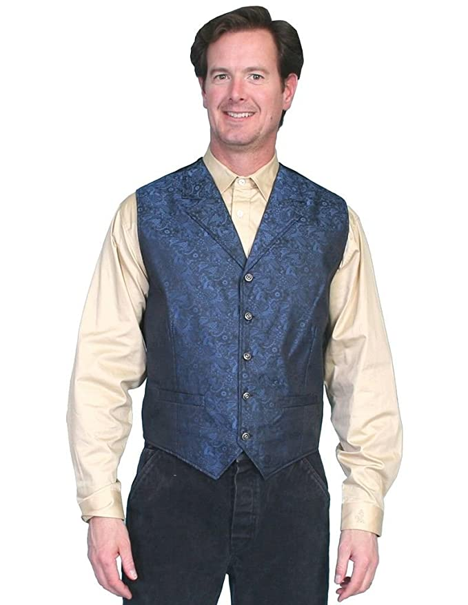 Men's Vintage Vests, Sweater Vests Rangewear River City Vest - Rw164 Red $55.05 AT vintagedancer.com