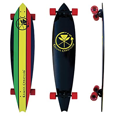 Kahuna Creations Haka Rasta Longboard : Sports & Outdoors