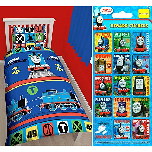 Price comparison product image Thomas Team Single / US Twin Rotary Duvet Cover + Free Small Reward Stickers