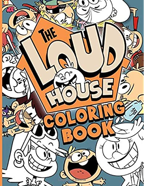Loud House Coloring Book: Loud House Color Wonder Adult Coloring Books For  Men And Women With Exclusive Images: Ellis, Carter: 9798645011734:  Amazon.com: Books