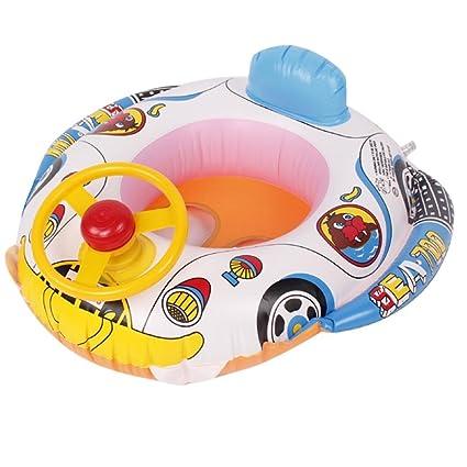Iusun Swim Boat para bebé, hinchable, flotador de bebé, barco ...
