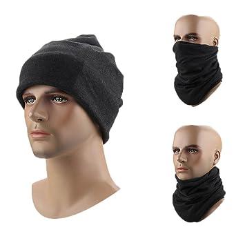 7c91b59c0c7 Men and Women Baggy Skull Cap Scarf Head Cap Chemo Beanie Cancer Hat Turban  Thick Crochet